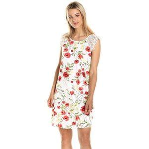 Kensie Wild Poppies Dress